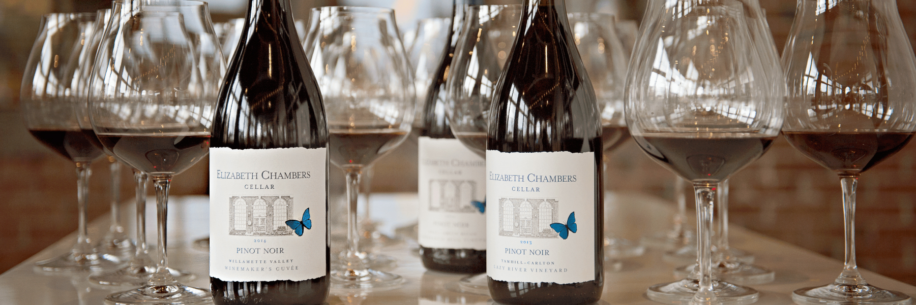 The Pinot Noirs of Elizabeth Chambers Cellar in McMinnville, Oregon