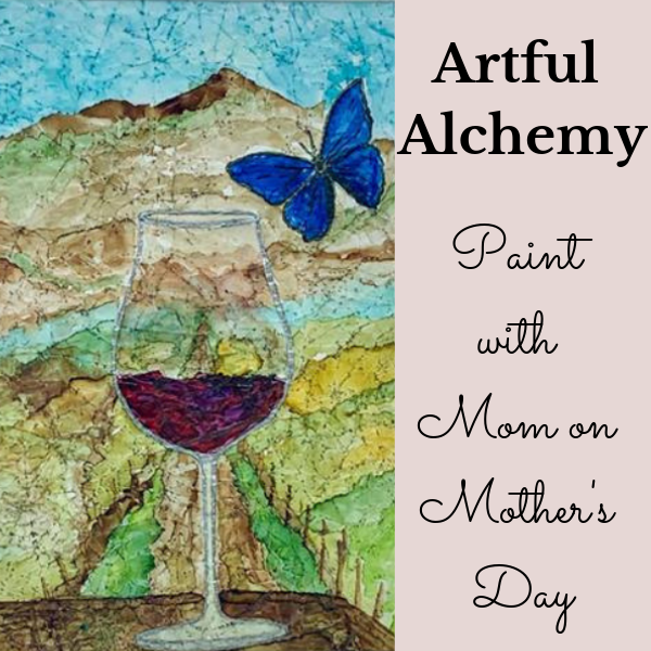 Paint with Mom at Elizabeth Chambers Cellar